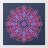 bohemian Canvas Prints featuring Bohemian by micklyn