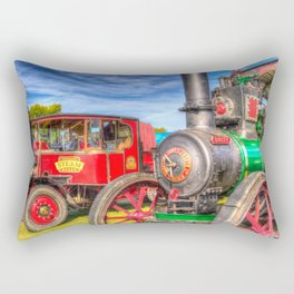 Traction Engine and Steam Lorry Rectangular Pillow
