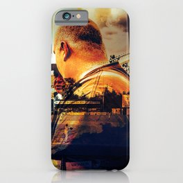 """""""A Day At The Growlers Game"""" iPhone Case"""