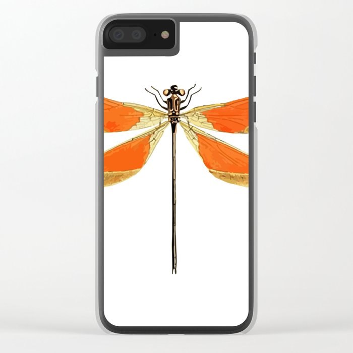 Dragonfly Clear iPhone Case