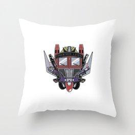 Cybertron Lives! Throw Pillow