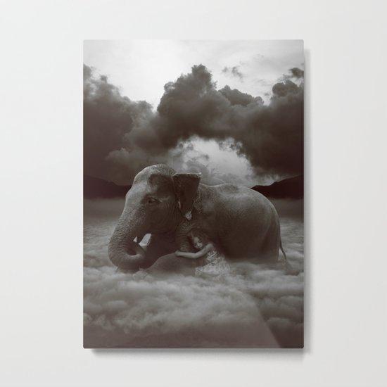 Soft Heart In a Cruel World Metal Print