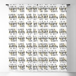 Happy Birthday To You! Blackout Curtain