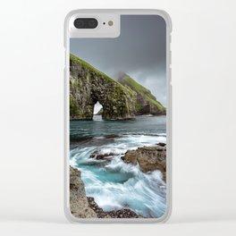 Drangarnir Arch Clear iPhone Case