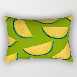 Yellow Watermelon Rectangular Pillow