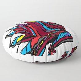 Native American Head-dress Floor Pillow