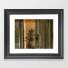Leave the door opened Framed Art Print