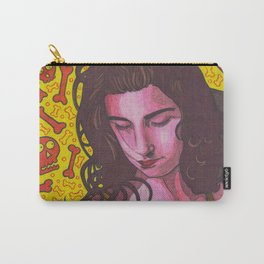 Polly Jean and Ghosts Carry-All Pouch