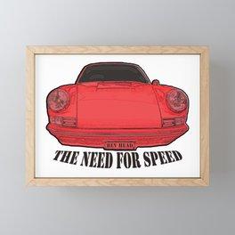 the Need for Speed Framed Mini Art Print