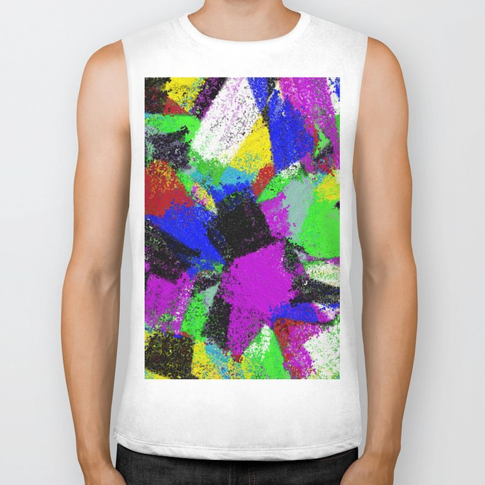Paint To Feel Better Biker Tank
