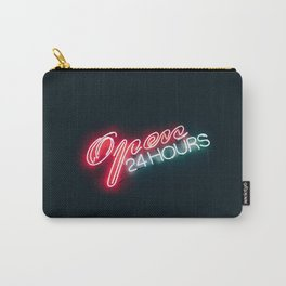 Neon Signs & Night Drives Carry-All Pouch