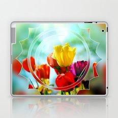 Tulips in the sunshine Laptop & iPad Skin