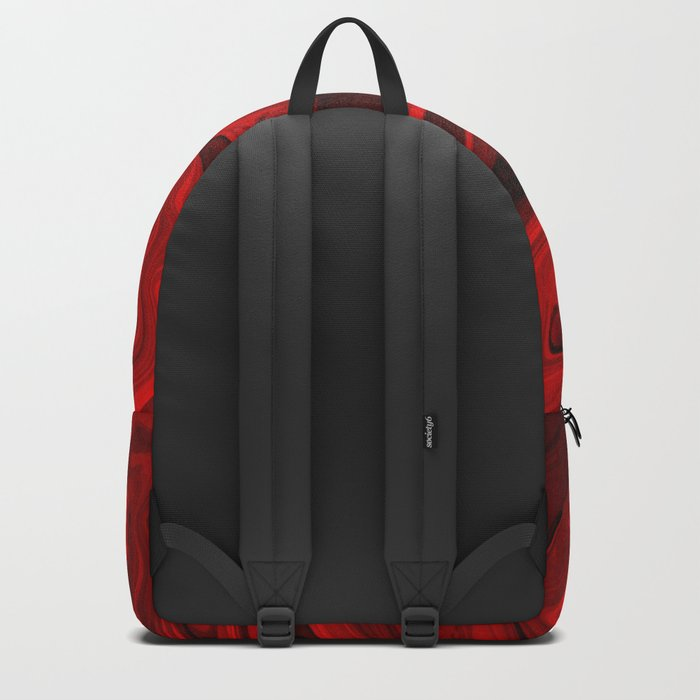 Blood Red Marble Rucksack