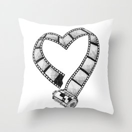 Love of Photography Throw Pillow