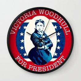 Victoria Woodhull Wall Clock