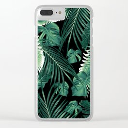 Tropical Jungle Leaves Dream #6 #tropical #decor #art #society6 Clear iPhone Case