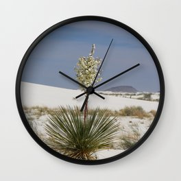 White Sands Soap Yucca Wall Clock