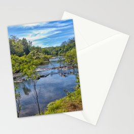 Idyllic River View Stationery Cards