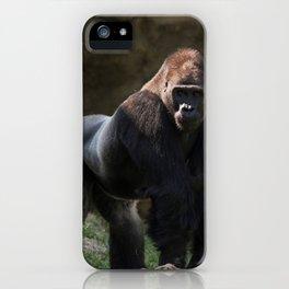 Gorilla Chief iPhone Case