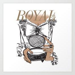 Royal Box Art Print