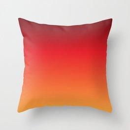 Hot Pepper Gradient Throw Pillow