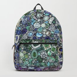 Diamonds, Jewels, (Gems & The Hologram) Backpack
