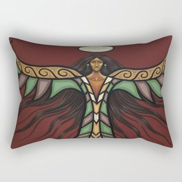 Thunderbird Woman Rectangular Pillow