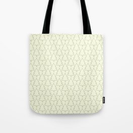 Pine forest pattern Tote Bag