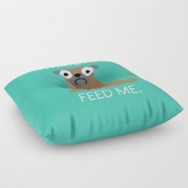 The Pugly Truth Floor Pillow