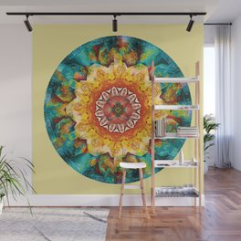 Mandalas from the Heart of Surrender 4 Wall Mural