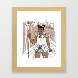 Sailor Cosmos Framed Art Print