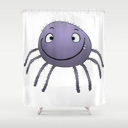 Spider Smile Shower Curtain