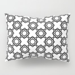 "Art Deco. ""Lola ""  white background . Pillow Sham"
