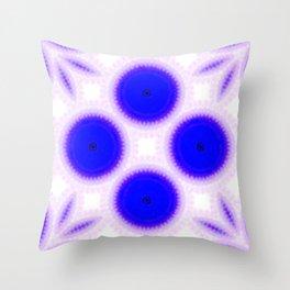 Pathways Blue Throw Pillow