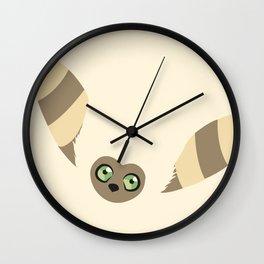 Curious Momo Wall Clock