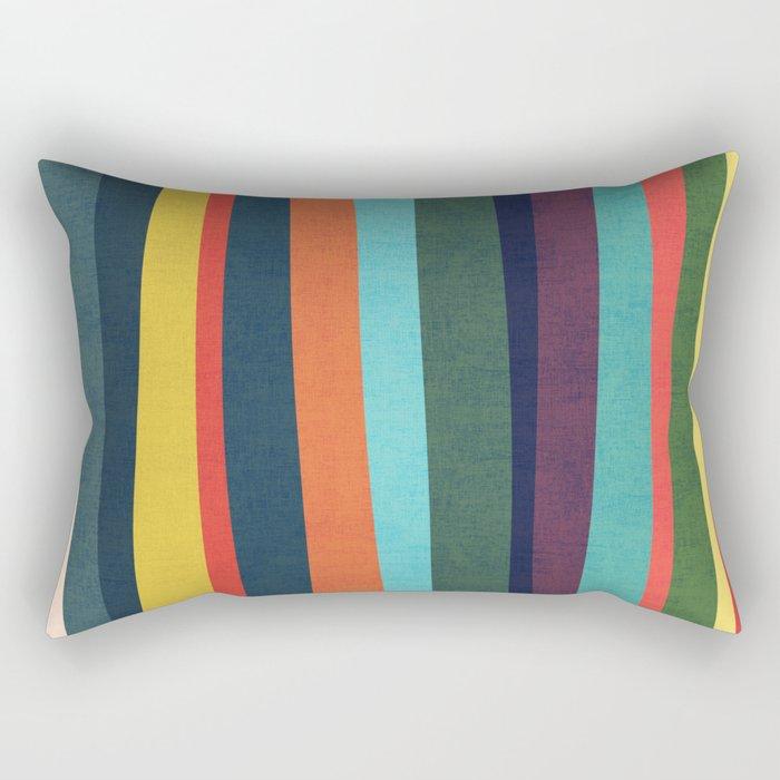 Mid-century zebra Rectangular Pillow