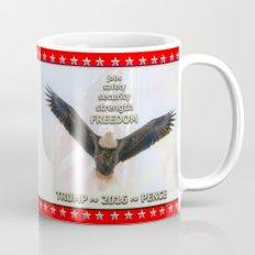 Trump Eagle Flies High In 2016  Coffee Mug