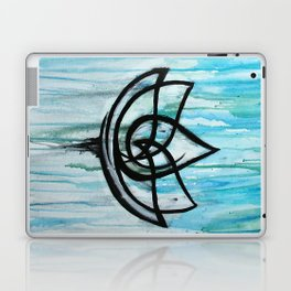 Lotus in the Rain I Laptop & iPad Skin