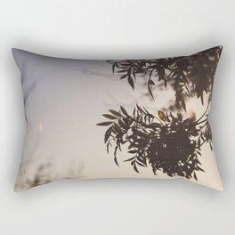 Leaves at Dawn Rectangular Pillow