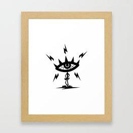 Magnetism Framed Art Print