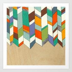 Quiver full of Colour Art Print
