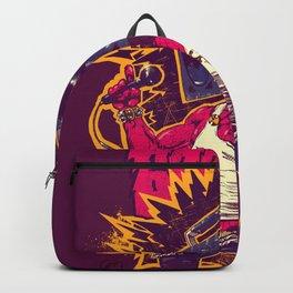 Boom Box Punk Backpack