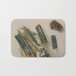 Natural Turquoise Bath Mat