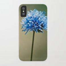 Blue Cotton Slim Case iPhone X