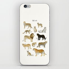 Wild Cats iPhone Skin