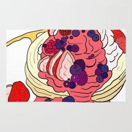 Very Berry Pancakes Rug