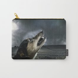 Dog moonlight 1 Carry-All Pouch