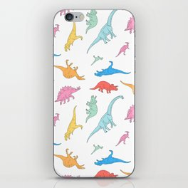 Dino Doodles iPhone Skin
