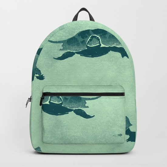 Down with the turtles Backpack