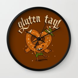 Gluten Tag Wall Clock